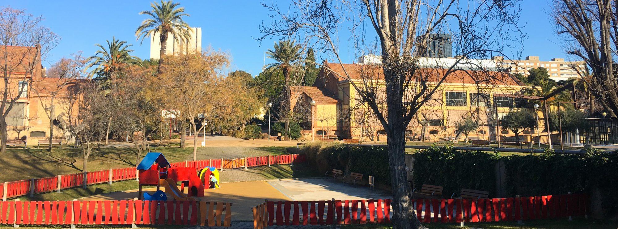 Barcelone secrète en famille : Jardins de la Maternitat